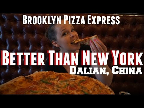 Brooklyn Pizza in China: A Review | Dalian, China | Wheelee's Travels
