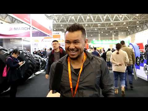2019 China Qingdao Tire expo---Interview of Visitors