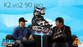 2014 K2 VO2 90 Pro Mens Inline Skate Overview by INLINESKATES.COM