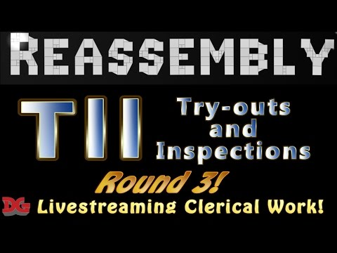 Reassembly ► Tournament #11 - (ROUND 3) Let's Livestream Ship Inspections and Try-outs!