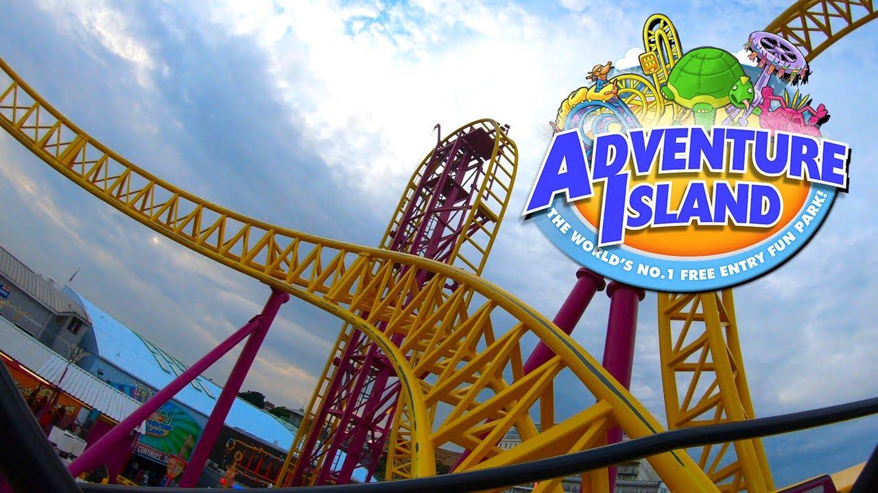 Adventure Island Southend Vlog July 2021 Youtube