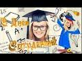 🎓 Поздравление с днем студента 📚  Видео открытка
