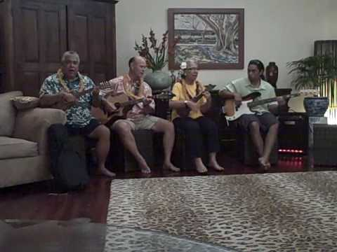 "Kualoa performs ""Keawaiki"" at private party in Portlock HI"