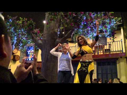 An Eye on I-Drive: Belly Dancing And Hummus