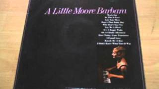 "BARBARA MOORE ""Work Out"""