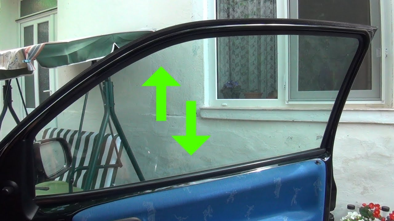 ↕ How to repair VW Lupo stuck electric window ↕