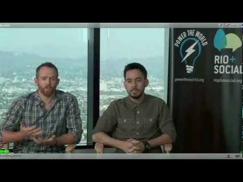 Linkin Park on the Power the World Panel at Rio+Social 2012 [Part 1/2]