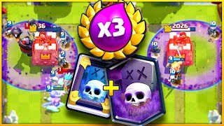 AM I A GENIUS?! - Clash Royale *MIRROR* Graveyard Deck!