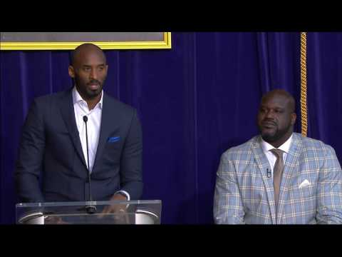 Kobe Speaks at Shaq