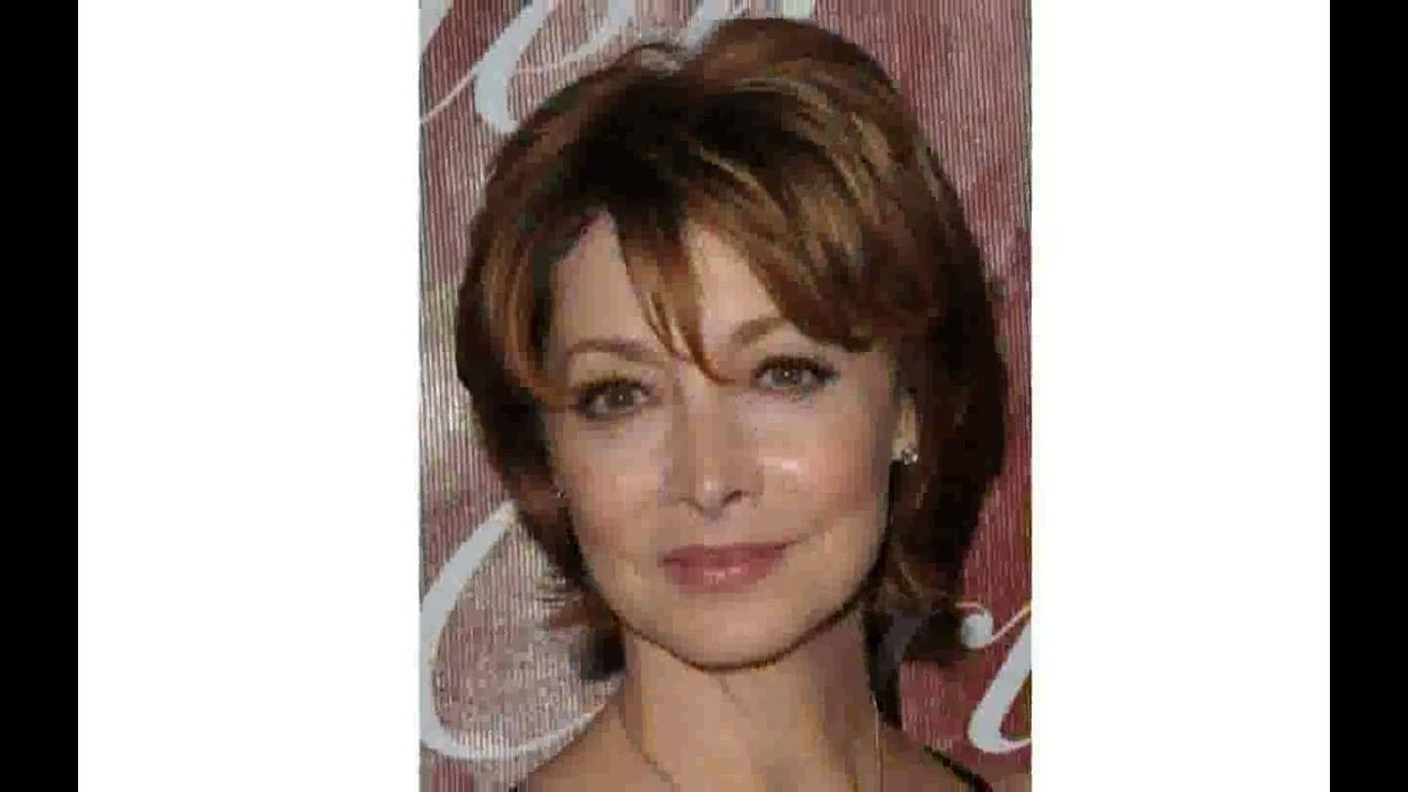 Short Hair Styles For Women Over 50 Round Face Youtube