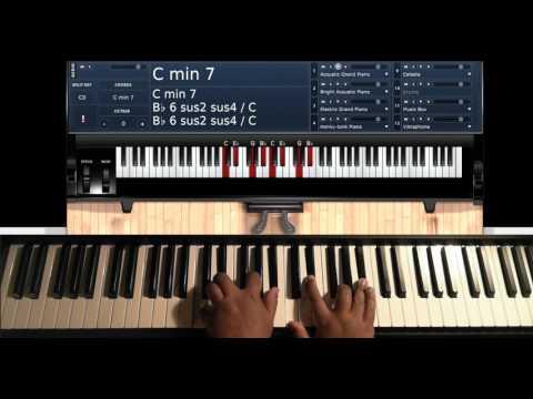 It Never Rains (in Southern California) [by Tony Toni Tone] - Piano Tutorial