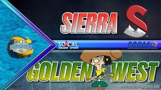 2017 CCCAA Water Polo Men's Semifinals: Golden West vs Sierra