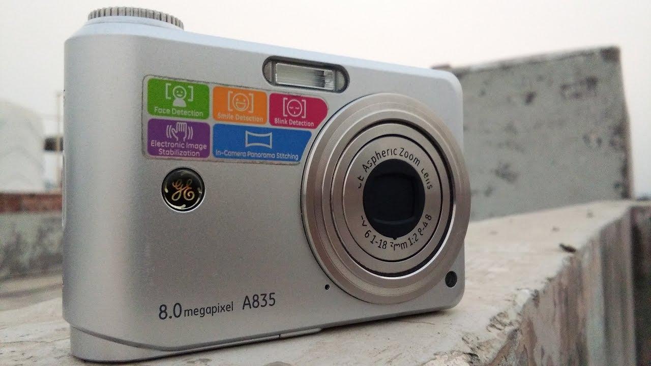 ge a835 review kdsg youtube rh youtube com Walmart GE Digital Camera GE X400 Camera