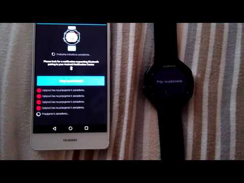 Garmin Connect Mobile Bluetooth Pairing With Huawei P9 Lite Issue