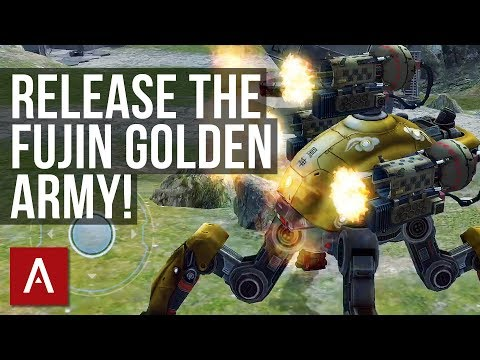 War Robots Gameplay: FUJIN GOLDEN ARMY