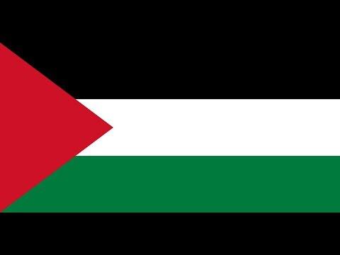 Флаг Палестины.