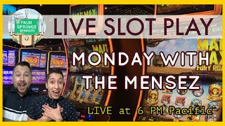 LIVE SLOT MACHINE PLAY 🎰 Palm Springs Spinners Your Favorite Monday Night Experience