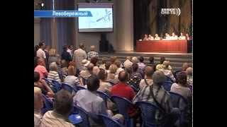 В микрорайоне Левобережный обсудили транспортные проблемы