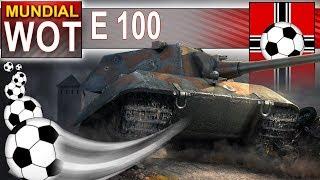 E 100 na boisku - ale ja jestem cienki :( - World of Tanks