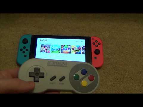 How to SYNC the 8Bitdo SFC30 Gamepad to the Nintendo Switch