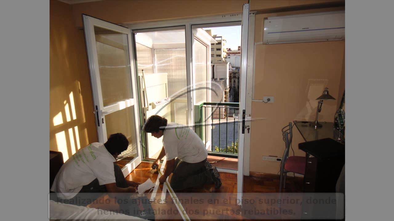 Cambio de puerta de hierro por puertas y pa o fijo de - Cambio de puertas ...