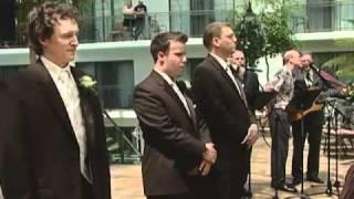 Singing Bride Groom surprise