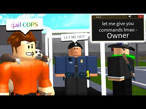 This Owner SHOULDN'T Have Given Me Admin Commands.. (Roblox)