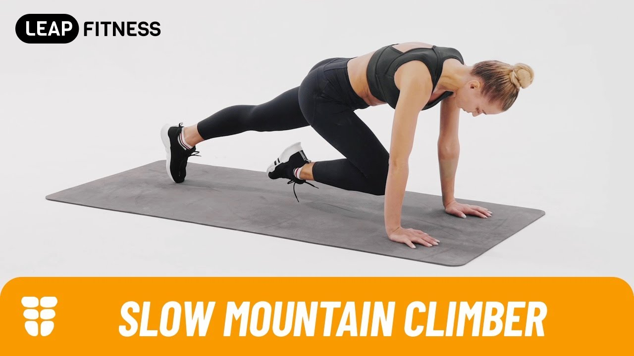 How to Do Mountain Climbers: 12 Steps (with Pictures