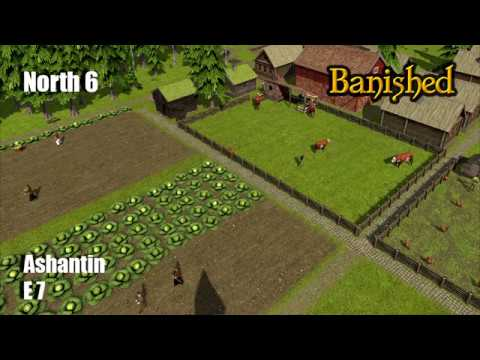 Banished North 6 E7 Can We Escape Starvation?