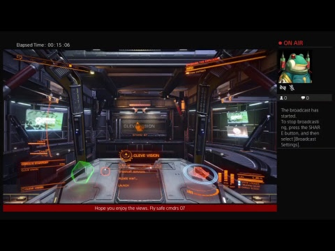 I.P.C. latenight cg fun, Elite Dangerous,