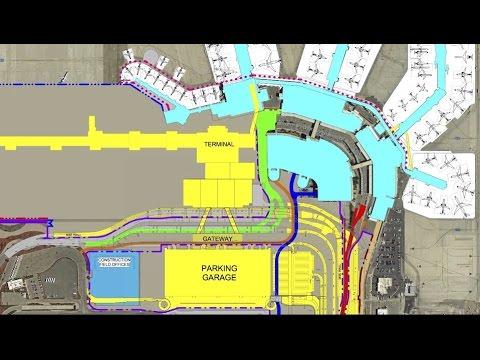Salt Lake International Airport: New Rental Car Service Facilities