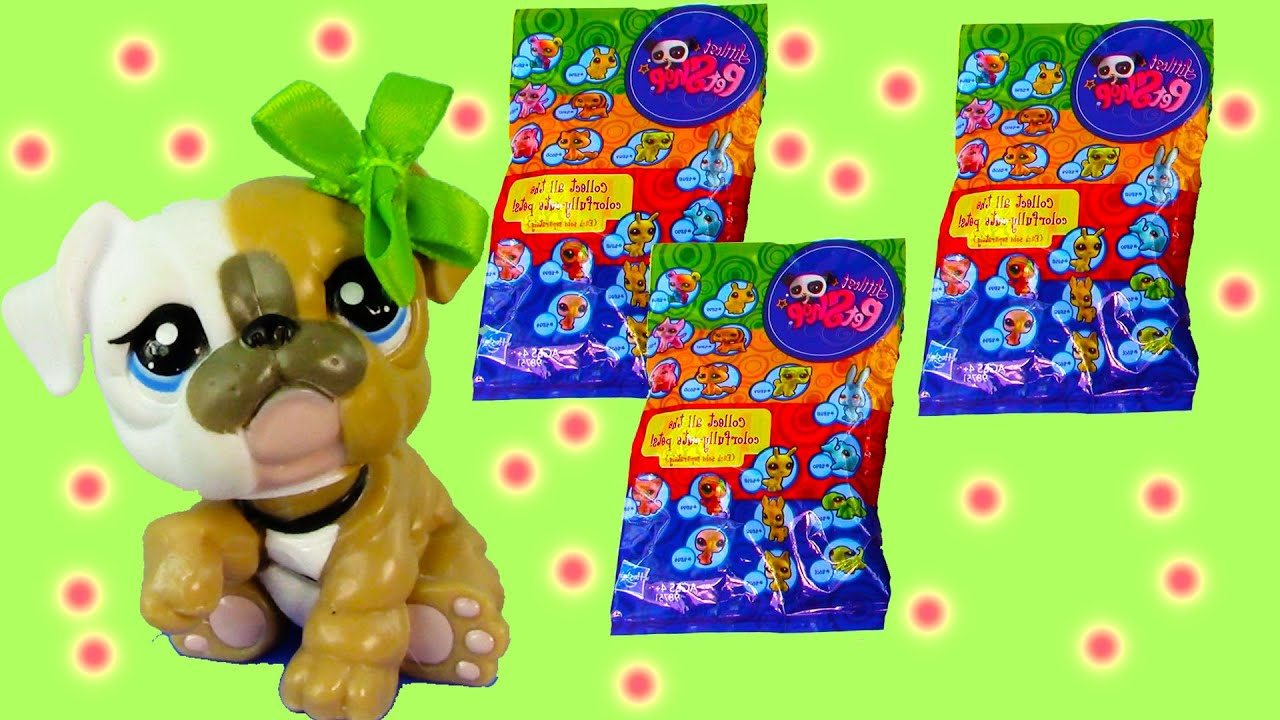 Lps Colorfully Cute Blind Bag Mystery Littlest Pet Shop