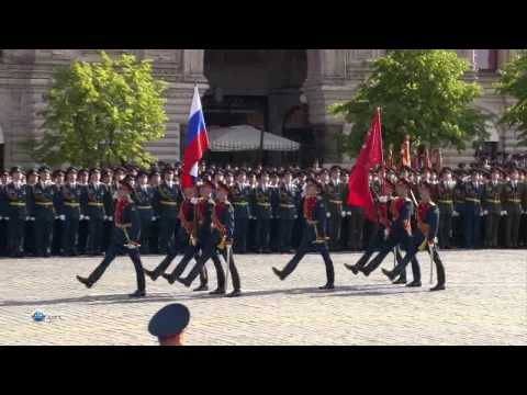 Victory Parade in the World War II - 2008 (Russia, Moscow, Red Square)-00.mp4