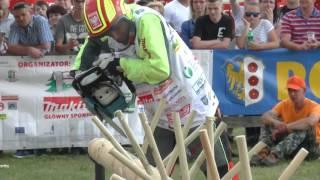 Zawody drwali Bobrowa 2017 - Kamil Szarmach