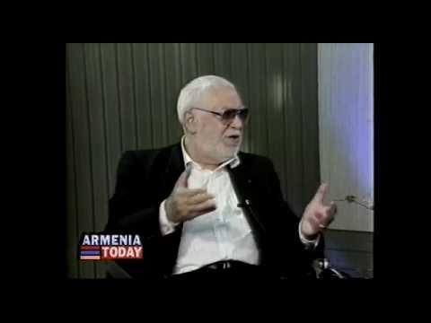 Khoren Abrahamyan    Armenia Today  TV     In Glendale CA    1996