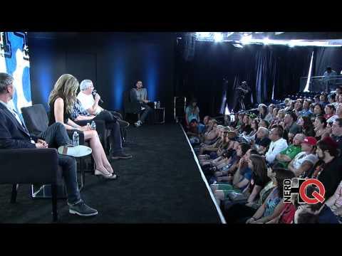 A Conversation with John Simm, Mira Sorvino & Glen Morgan of INTRUDERS live form #NerdHQ 2014