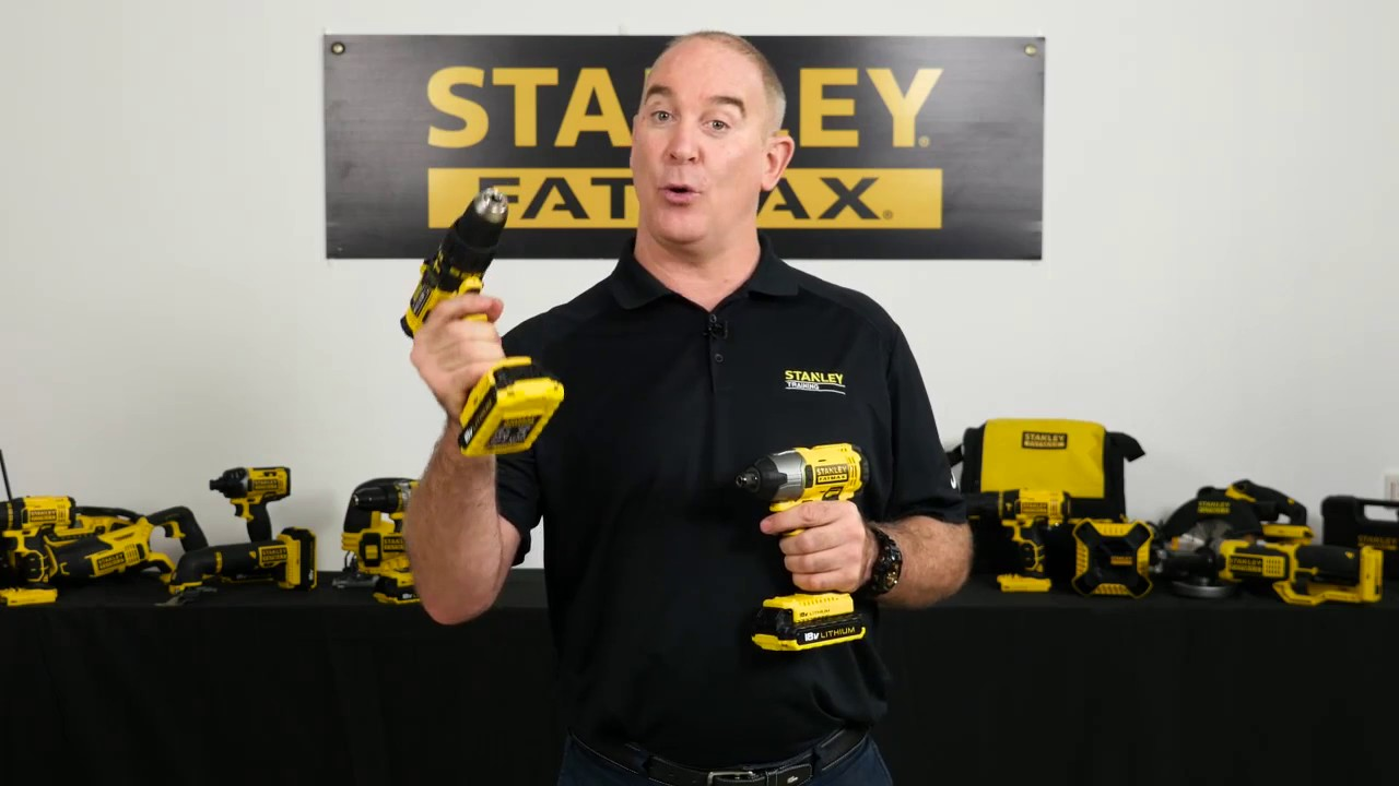 Stanley factory-reconditioned fmc620lar 20v fatmax cordless.