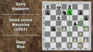 Partite Commentate di Scacchi 17- Deep Blue vs Kasparov - Uomo contro Macchina - 1997 - Game 6