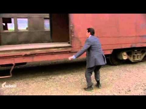 The Office: Michael tries to jump on a train