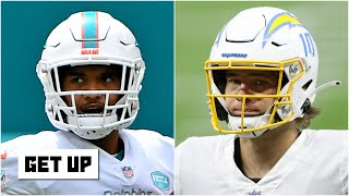 Did the Dolphins make the wrong pick with Tua Tagovailoa over Justin Herbert? | Get Up