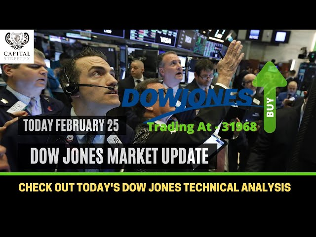 [DOW JONES] Market Update & Technical Analysis By Capital Street Fx - February 25, 2021