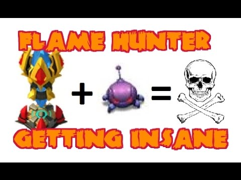 Castle Clash Flame Hunter #3 Getting Insane