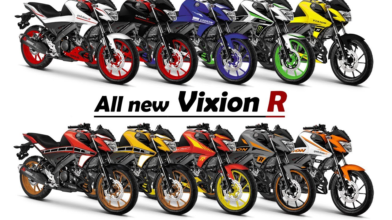 All New Vixion R Modif Striping Part1 YouTube