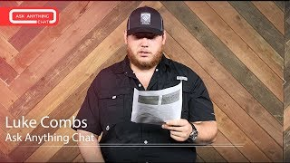 """Luke Combs Talks About Naming His Kids """"Tyler"""". Watch Full Cody Alan Chat Here"""