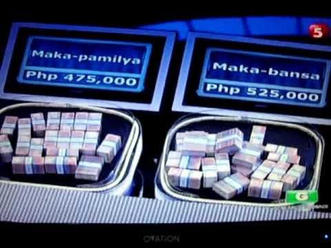 the million peso omeny drop