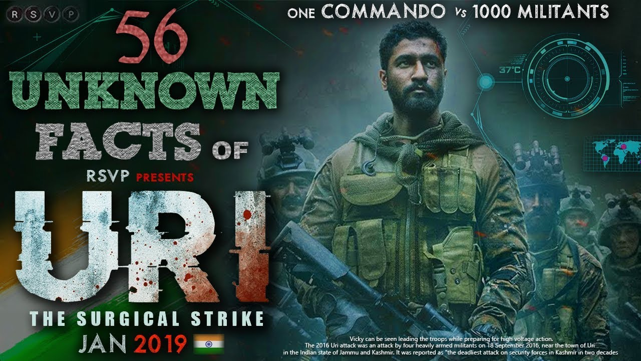 56 Unknown Facts Of Uri The Surgical Strike Vicky Kaushal Yami