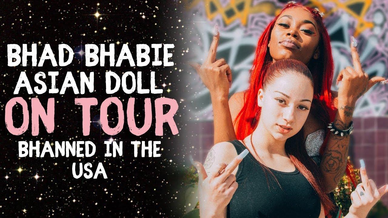 BHAD BHABIE & Asian Doll on Tour Q&A sesh | Danielle Bregoli