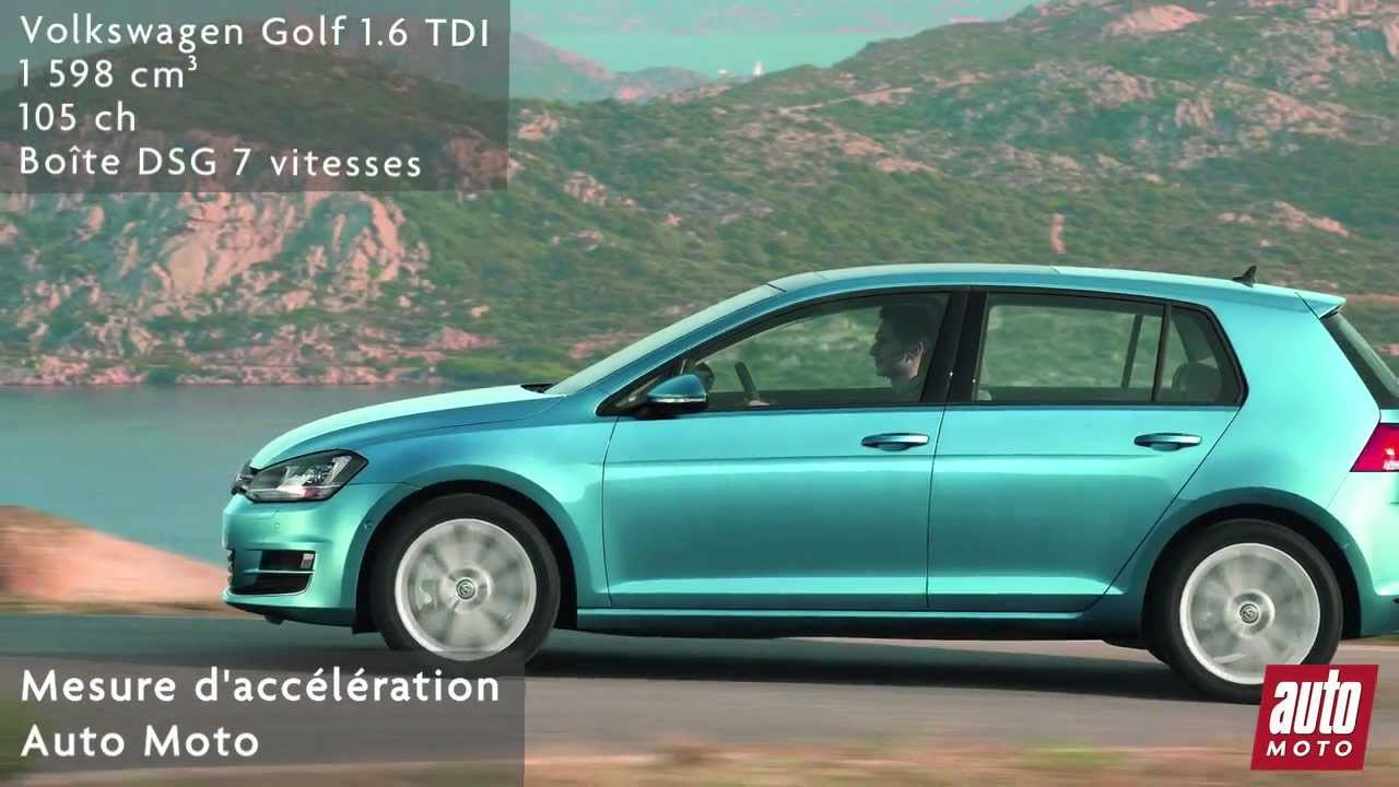 volkswagen golf 1 6 tdi dsg 7 youtube. Black Bedroom Furniture Sets. Home Design Ideas