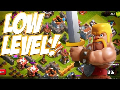 Clash of Clans | Low Level Single Player & Multiplayer!