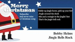 Bobby Helms - Jingle Bells Rock - Lyrics (Paroles)